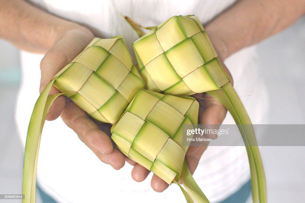 Ketupat Lebaran : Stock Photo