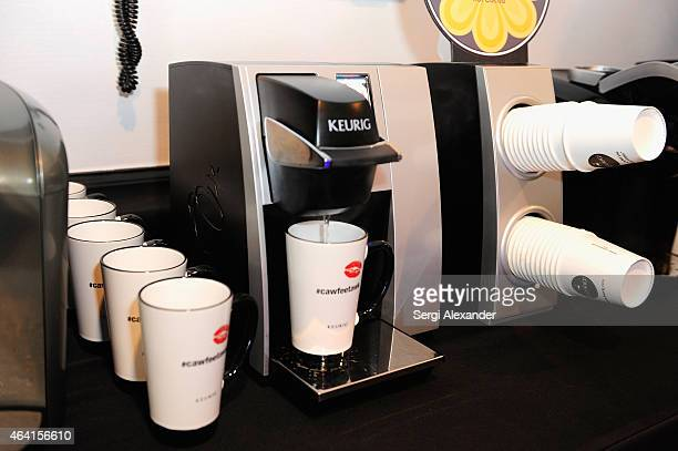 Keurig on display at Southern Kitchen Brunch hosted by Trisha Yearwood, part of The New York Times series during the 2015 Food Network & Cooking...