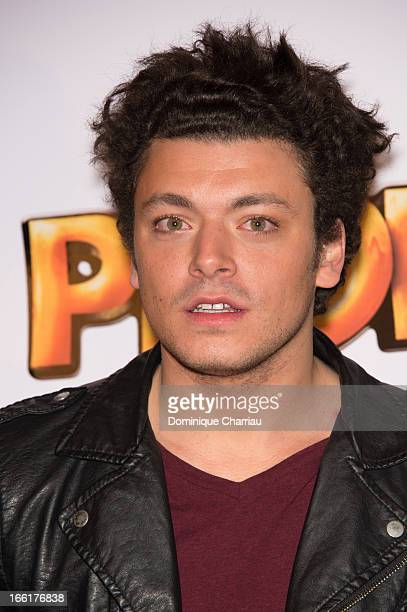 Kev Adams attends the 'Les Profs' Premiere at Le Grand Rex on April 9, 2013 in Paris, France.