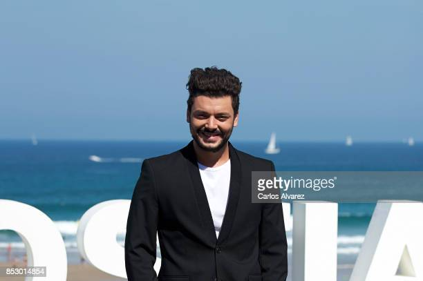 Kev Adams attends the 'To The Top' photocall during the 65th San Sebastian Film Festival on September 24 2017 in San Sebastian Spain