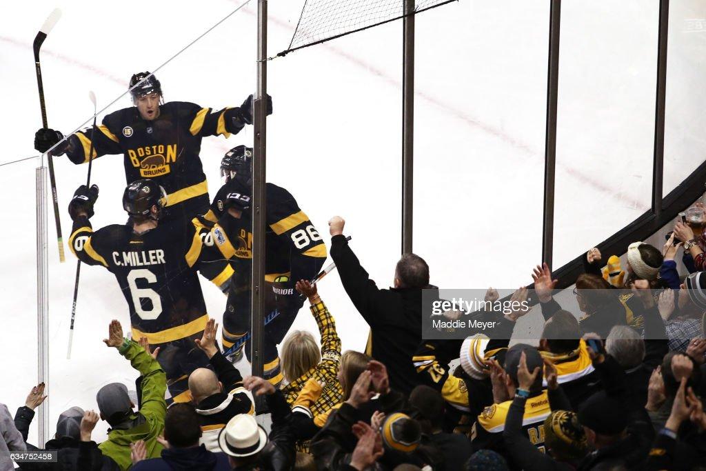 Vancouver Canucks v Boston Bruins