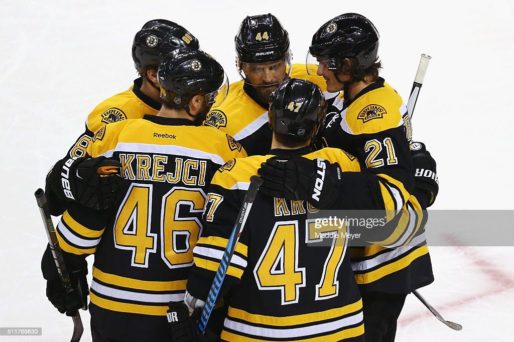 Columbus Blue Jackets v Boston Bruins : News Photo