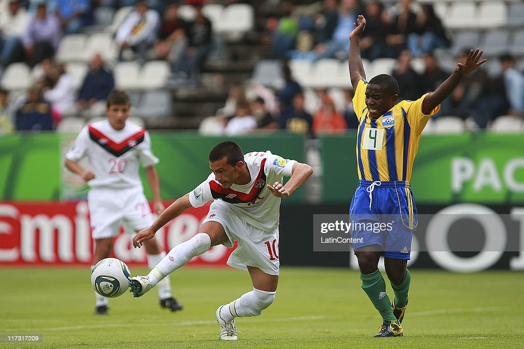 Canada v Rwanda: Group C - FIFA U-17 World Cup Mexico 2011 : ニュース写真