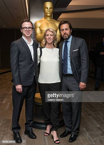 Keven McAlester Rory Kennedy and Mark Bailey arrive at the 87th Annual Academy Awards Oscar Week Celebrates Documentaries at Samuel Goldwyn Theater...