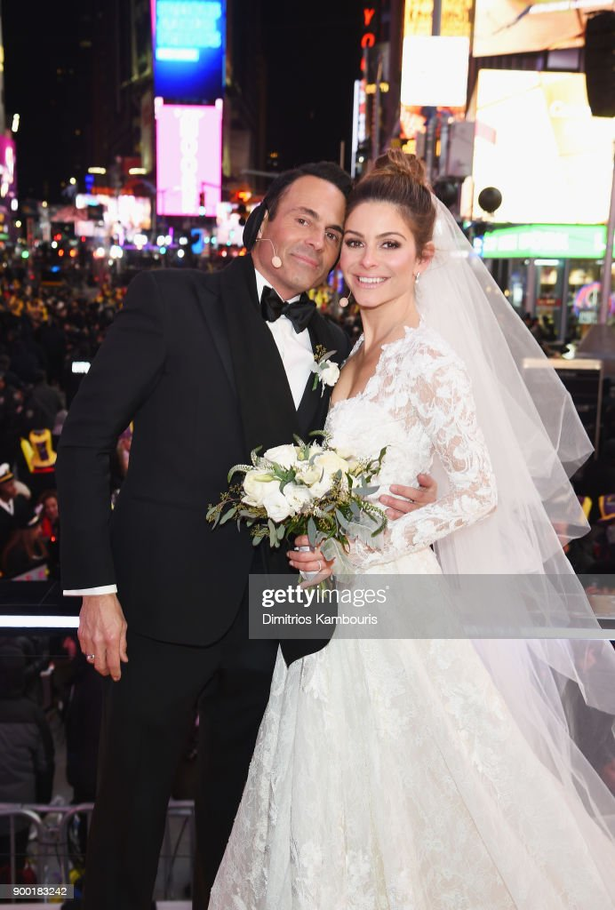Keven Undergaro L And Maria Menounos Hold Their Wedding Ceremony During