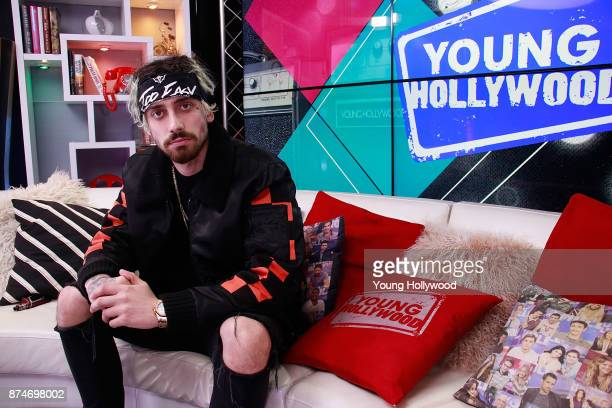 Kevi from Cheat Codes visits the Young Hollywood Studio on November 15 2017 in Los Angeles California