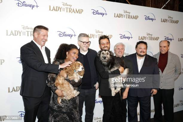 Kevin A Mayer Rose Yvette Nicole Brown Charlie Bean Monte Justin Theroux Brigham Taylor Adrian Martinez and F Murray Abraham during the Disney And...