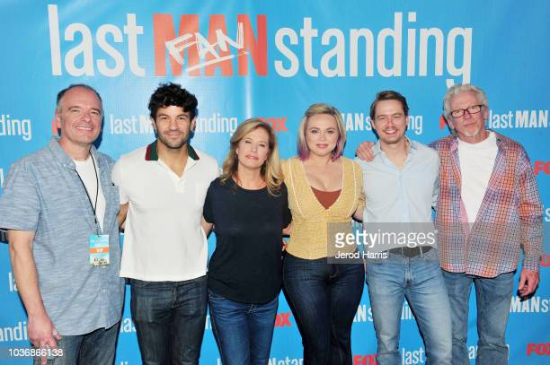 Kevin Abbot Jordan Masterson Nancy Travis Amanda Fuller Christoph Sanders and Matt Berry attend FOX Celebrates The Premiere of 'Last Man Standing'...
