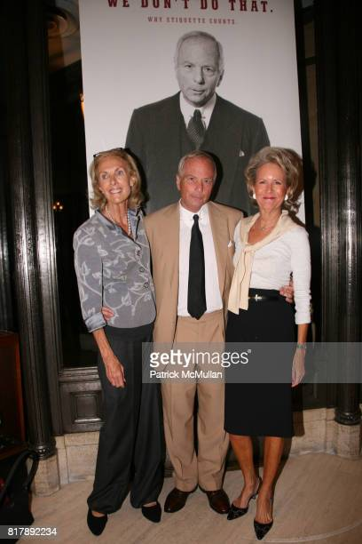 Kevin Abernathy Jim Abernathy and Jean Jakobson attend The launch of 'True Prep' at Brooks Brothers on September 14 2010 in New York