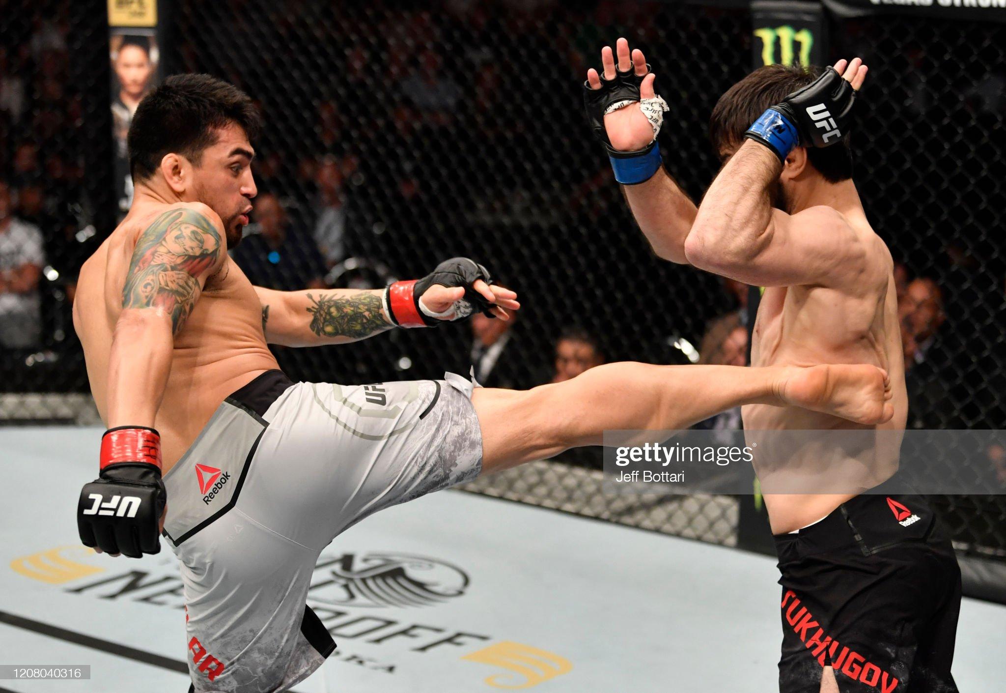 UFC Fight Night: Aguilar v Tukhugov : News Photo