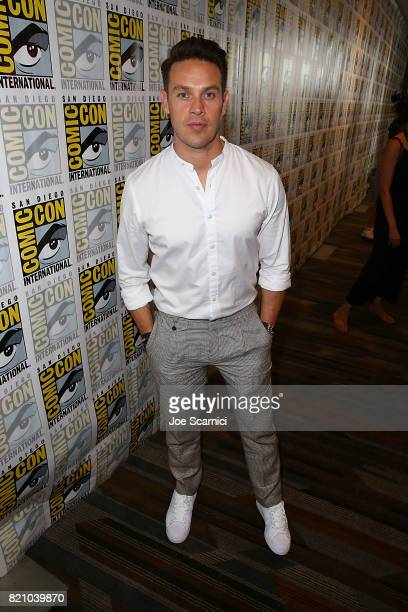 Kevin Alejandro arrives at the Lucifer press line at ComicCon International 2017 on July 22 2017 in San Diego California