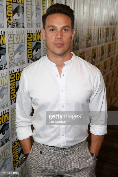 Kevin Alejandro arrives at the 'Lucifer' press line at ComicCon International 2017 on July 22 2017 in San Diego California