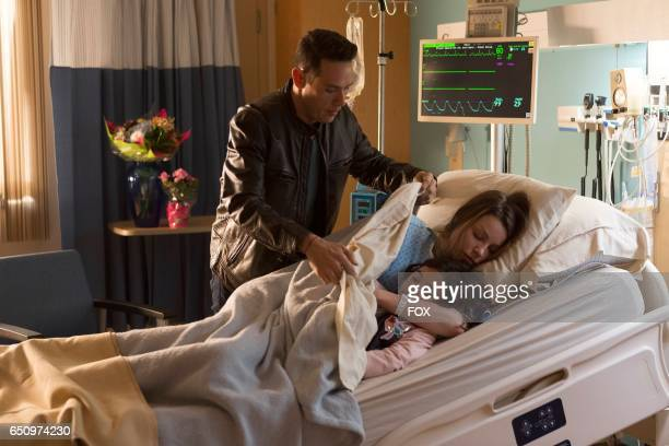 Kevin Alejandro Lauren German and Scarlett Estevez in the A Good Day to Die winter finale episode of LUCIFER airing Monday Jan 30 on FOX