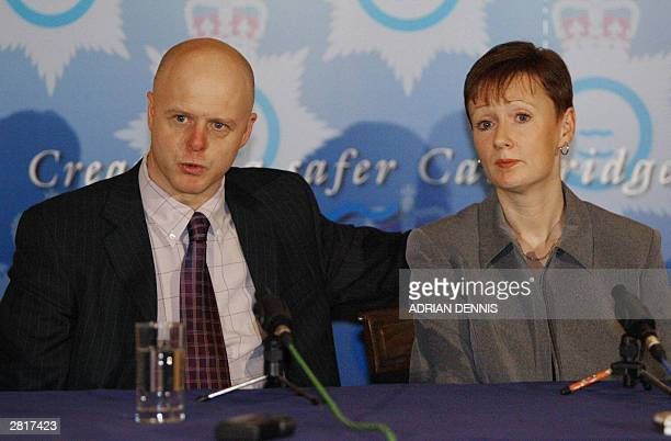 Kevin and Nicola Wells speak to the media after Ian Huntley was sentenced to two life terms in prison for murdering their 10yearold daughter Holly...