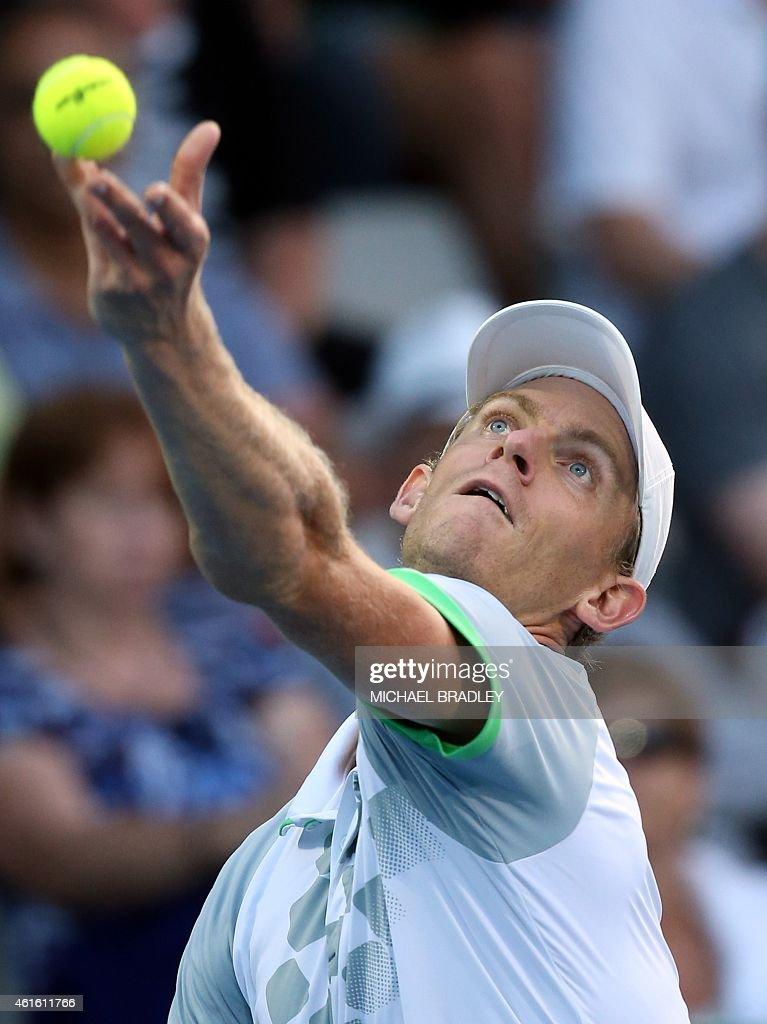 TENNIS-NZL-ATP : News Photo