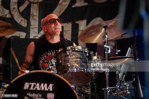 Kevin Aronoff with The Supersonic Blues Machine performs on stage at The Notodden Blues Festival on August 2 2019 in Notodden Norway