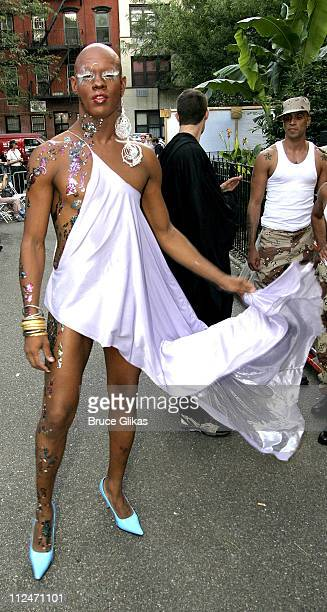 Kevin Aviance during Wigstock Festival 2005 at Tompkins Square Park in New York City, New York, United States.