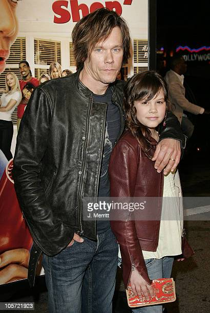 Kevin Bacon and daughter Sosie Ruth during 'Beauty Shop' World Premiere at Grauman's Chinese Theatre in Hollywood California United States