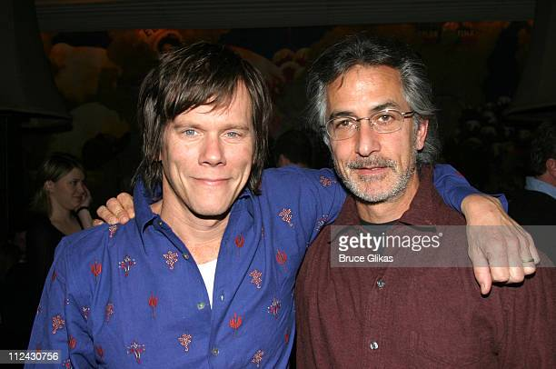 Kevin Bacon and David Strathairn during The Epic Theatre Center Third Annual Gala Fundraiser at Calle Ocho Resturaunt in New York City New York...