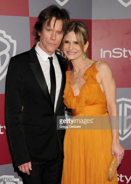 Kevin Bacon and Kyra Sedgwick arrive at the 12th Annual Warner Bros and Instyle PostGolden Globe Party at the Beverly Hilton Hotel on January 16 2011...