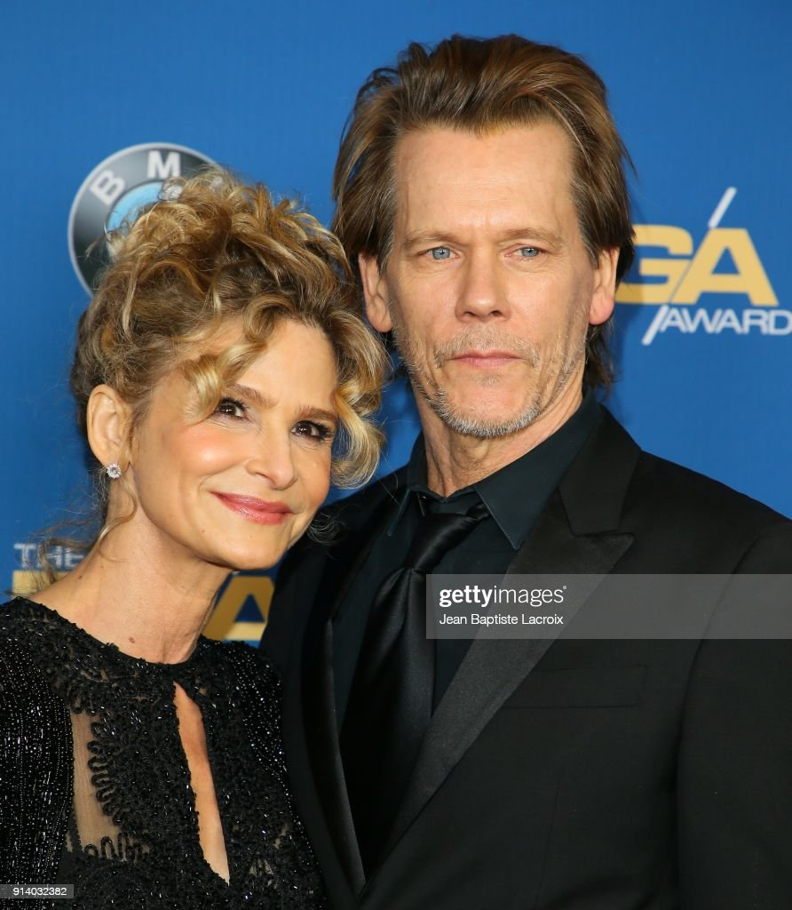 Kevin Bacon and Kyra Sedgwick attend the 70th Annual Directors Guild Of America Awards at The Beverly Hilton Hotel on February 3, 2018 in Beverly Hills, California.