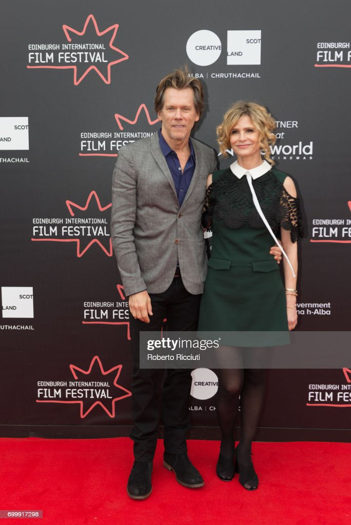 Kevin Bacon and Kyra Sedgwick attend the world premiere of 'Story of a Girl' during the 71th Edinburgh International Film Festival at Cineworld on June 22, 2017 in Edinburgh, Scotland.