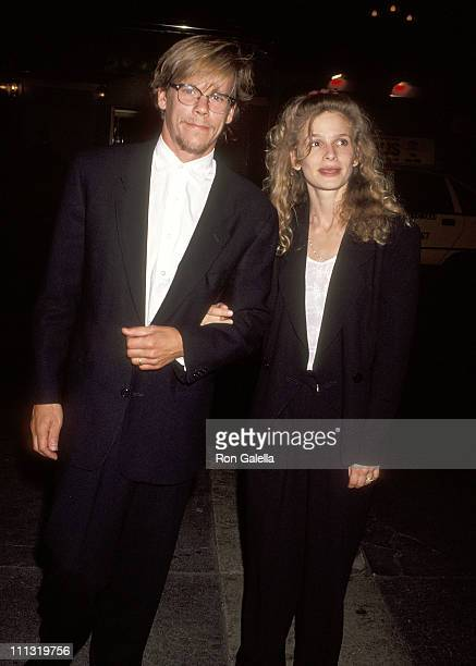 Kevin Bacon and Kyra Sedgwick during Opening Night Party for the New York Premiere of Angels in America at Roseland Ballroom in New York City New...