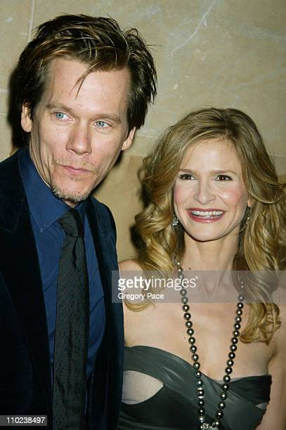"""Kevin Bacon and Kyra Sedgwick during """"The Woodsman"""" New York Cit y Premiere - Inside Arrivals at The Skirball Center in New York City, New York,..."""