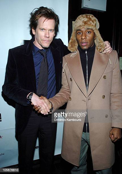 Kevin Bacon and Mos Def during 'The Woodsman' New York City Premiere After Party at NA in New York City New York United States