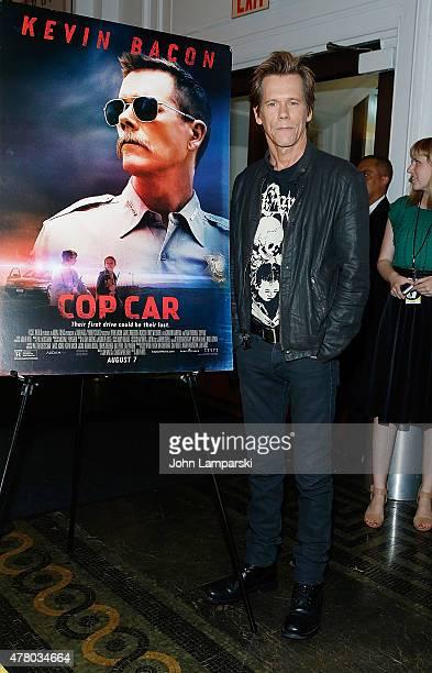 Kevin Bacon attends BAMcinemaFest 2015 Cop Car premiere at BAM Peter Jay Sharp Building on June 21 2015 in New York City