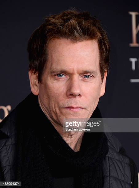 Kevin Bacon attends Kingsman The Secret Service New York Premiere at SVA Theater on February 9 2015 in New York City