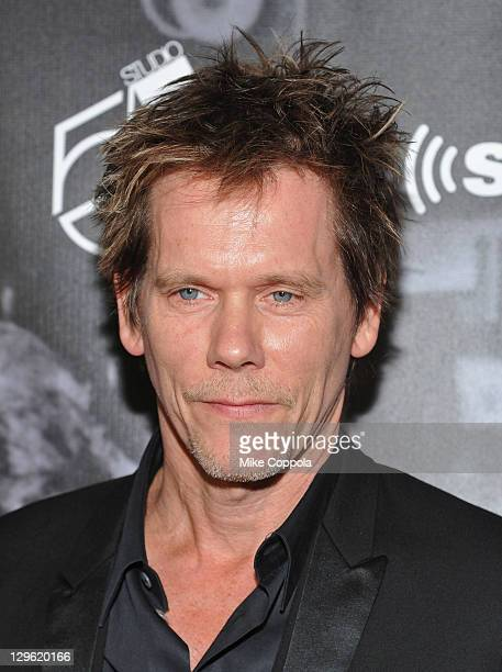 Kevin Bacon attends SiriusXM's 'One Night Only' at Studio 54 on October 18 2011 in New York City