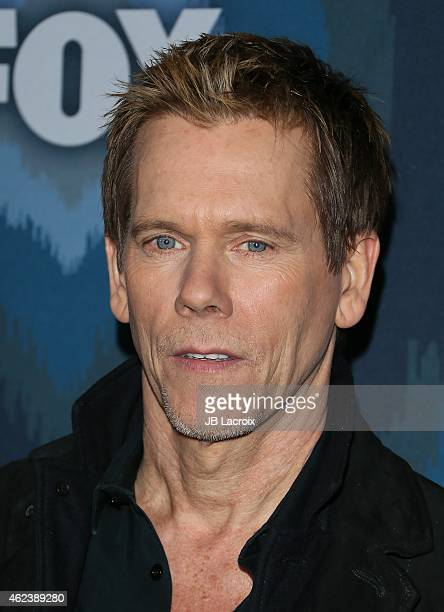 Kevin Bacon attends the 2015 Fox AllStar Party at the Langham Hotel on January 17 2015 in Pasadena California