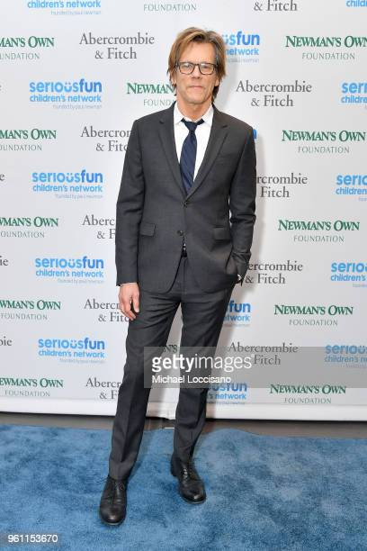 Kevin Bacon attends the 2018 SeriousFun Children's Network Gala at The Ziegfeld Ballroom on May 21 2018 in New York City