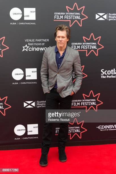Kevin Bacon attends the world premiere of Story of a Girl during the 71th Edinburgh International Film Festival at Cineworld on June 22 2017 in...