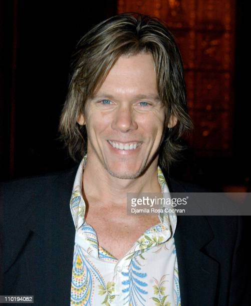 Kevin Bacon during Cynthia Nixon Kevin Bacon and Annette Bening Host Second Stage's 25th Anniversary Gala at Cipriani in New York City New York...