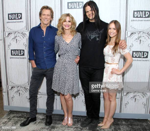 Kevin Bacon Kyra Bacon Travis Bacon and Ryann Shane appears to promote Story of a Girl during the BUILD Series at Build Studio on July 21 2017 in New...