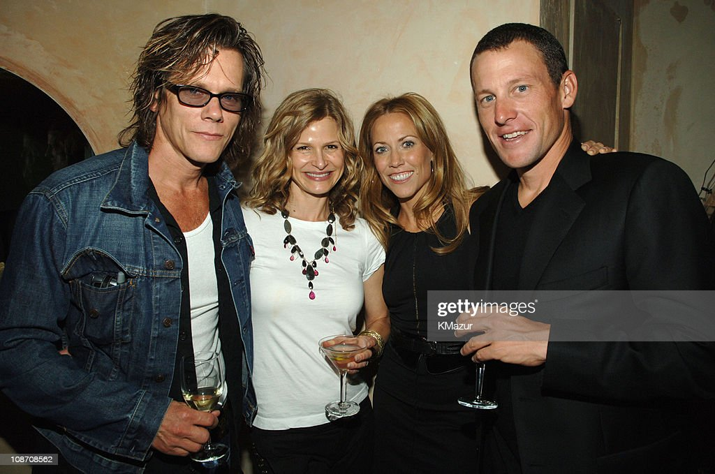 Kevin Bacon, Kyra Sedgwick, Sheryl Crow and Lance Armstrong