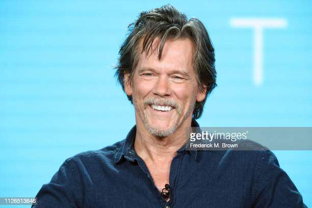 Kevin Bacon of the television show 'City on a Hill' speaks during the Showtime segment of the 2019 Winter Television Critics Association Press Tour...