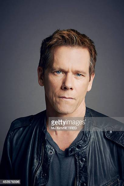 Kevin Bacon poses for a portrait at the Getty Images Portrait Studio powered by Samsung Galaxy at ComicCon International 2014 on July 24 2014 in San...