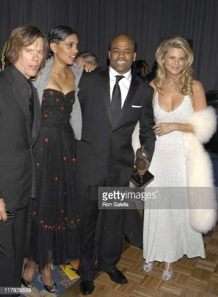 Kevin Bacon Rachel Roy Damon Dash and Christie Brinkley