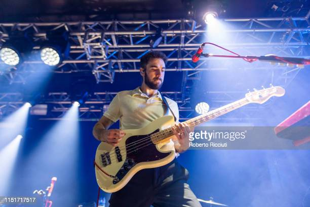 Kevin Baird of Two Door Cinema Club performs live on stage at The Liquid Room on June 24 2019 in Edinburgh Scotland