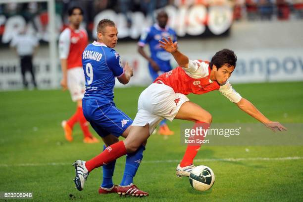 Kevin BERIGAUD / Aissa MANDI Reims / Evian Thonon 37e journee Ligue 2