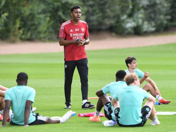 GBR: Arsenal U23 Training Session