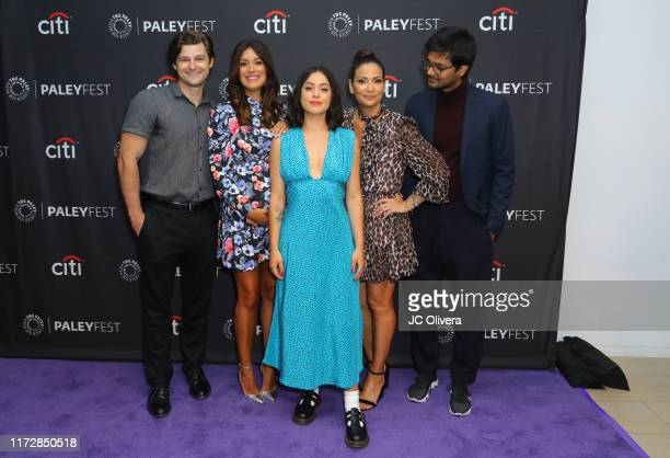 Kevin Bingley Angelique Cabral Rosa Salazar Constance Marie and Siddharth Dhananjay attend The Paley Center For Media's 2019 PaleyFest Fall TV...
