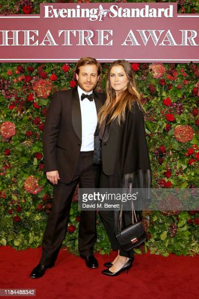 Kevin Bishop and Casta Bishop attend 65th Evening Standard theatre Awards in association with Michael Kors at the London Coliseum on November 24,...