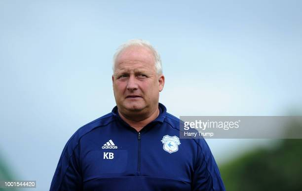 Kevin Blackwell Assistant Manager of Cardiff City during the PreSeason Friendly match between Bodmin Town and Cardiff City at Priory Park on July 18...