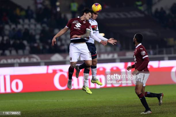 Kevin Bonifazi of Torino FC in action during the Coppa Italia match between Torino Fc and Genoa Cfc. Torino Fc wins 6-4 over Genoa Cfc after penalty...