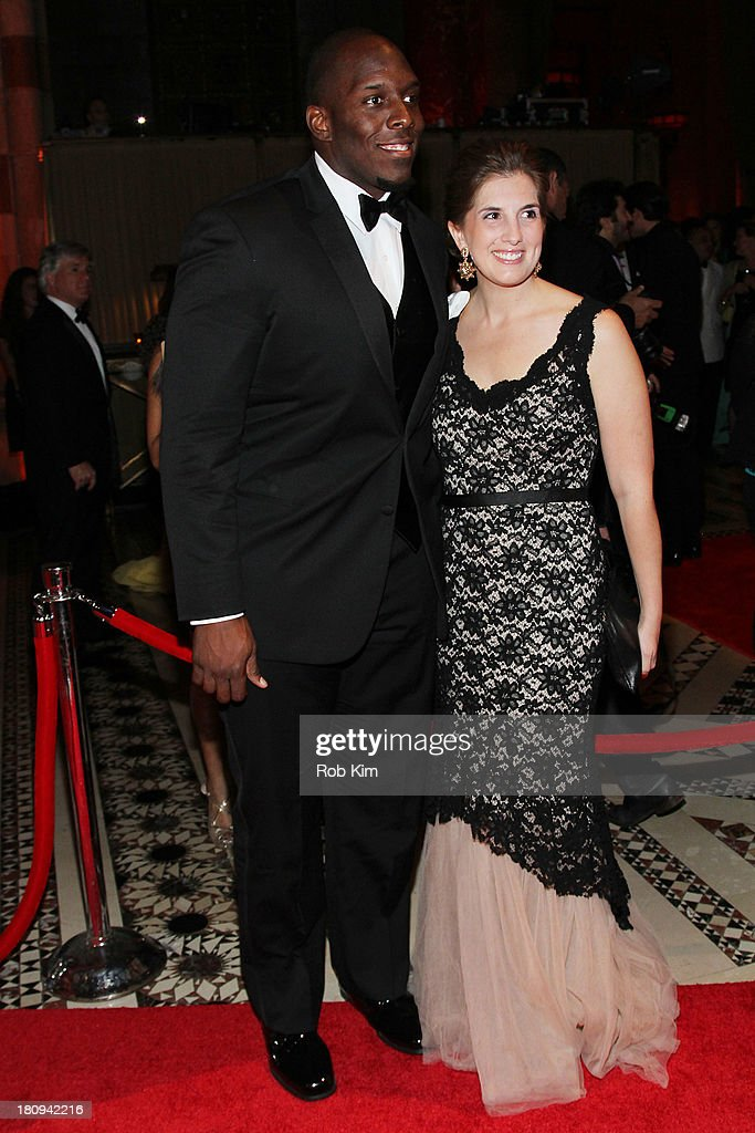 Kevin Boothe and Rosalie Boothe attend New Yorkers For Children Presents 14th Annual Fall Gala benefiting youth in foster care at Cipriani 42nd Street on September 17, 2013 in New York City.