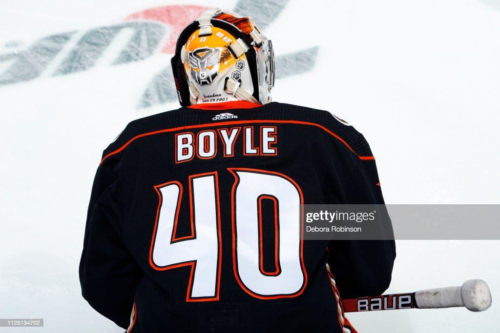 CA: Boston Bruins v Anaheim Ducks